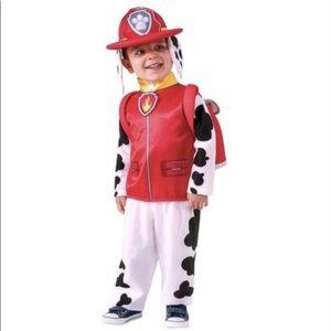 Paw Patrol Marshall Halloween Costume 2T/3T